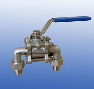 Stainless Steel 3PC U Type Ball Valve pictures & photos