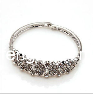 New Silver Alloy Bangle (FQ-8029)