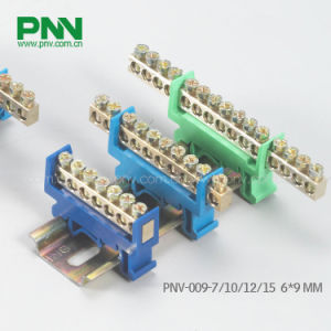 6*9mm Terminal Block, Dinrail Mounting Terminal Block Pnv-009