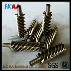 Steel Alloy and Brass Precision Helical Worm Gear for Reducer pictures & photos