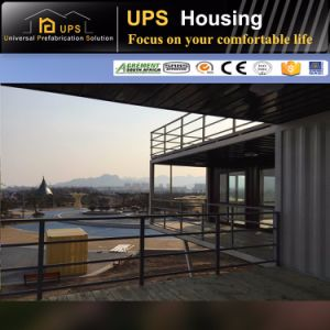 Affordable SABS Certificated Durable 40 Container House pictures & photos