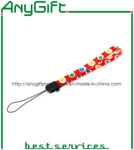 Mobile Phone Lanyard with Customized Logo (LAG-LY-34) pictures & photos