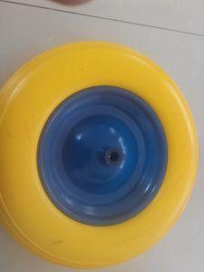 Tubeless PU Foam Wheel 400-8 300-8 for Wheelbarrow Use pictures & photos