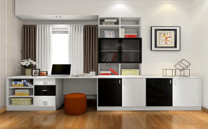 Modern Design New Type Wood Wardrobe (zy-026) pictures & photos