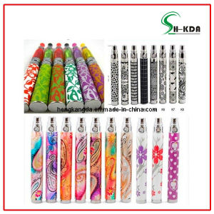 Hkda Hot Selling Many Many Colourful Battery E Cigarette EGO K EGO Q