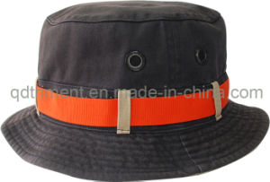 Washed Contrast Binding Twill Sport Fishing Bucket Hat (TRBH016) pictures & photos