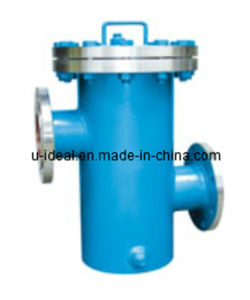 Flanged Upper and Lower Pipe Basket Filter, Basket Fuel Injector pictures & photos