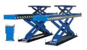 Double-Level Platform Scissor Lift Used for Alignment Dsla609