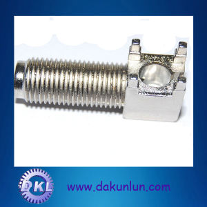 Precision Custom Parts with Screw Thread pictures & photos