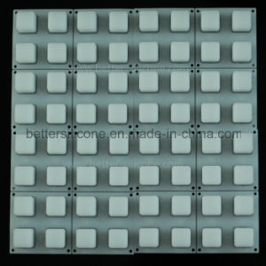 Elastomer Translucent Rubber Backlight Keypad pictures & photos