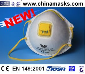 Dolomite Test Facemask Respirator Safety Dust Mask pictures & photos