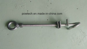 Galvanized Steel Oval Eye Bolts pictures & photos