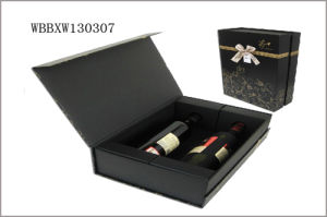 Manufacturer Folding Gift Paper Wine Box pictures & photos