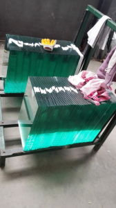 6mm Tempered Clear Square Glass with Polished Edge for Glass Door pictures & photos