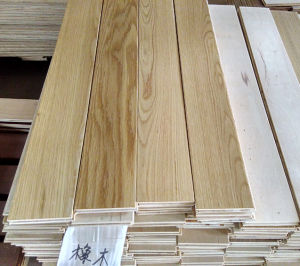 3-Layer Natural Color Wood Parquet Oak Engineered Wooden Flooring pictures & photos