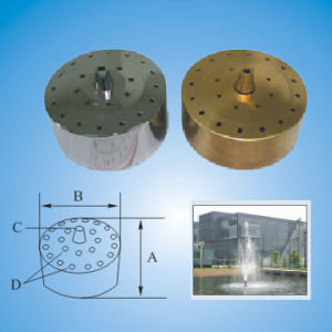 Unadjustable Fireworks Fountain Nozzle (small base)