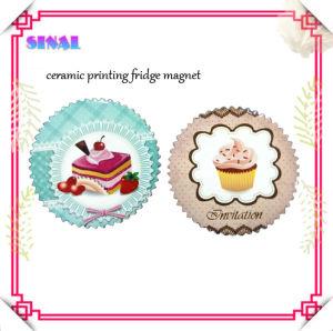 Ceramic Decal Printing Fridge Magnet Memo Holders