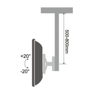 """Ceiling Mount for 13""""-27"""" LCD LED Plasma Tvs pictures & photos"""
