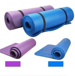 Cheap Soft NBR Yoga Mat 10mm pictures & photos