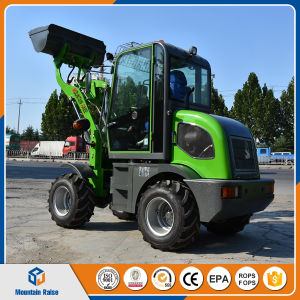 China Articulated Small Payloader Mini Wheel Loader pictures & photos