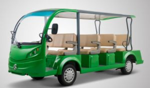 CE Approved 11 Seater Electric Sightseeing Bus From Dongfeng on Sale