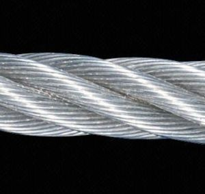 8.0mm 1X19 AISI316 Stainless Steel Strand Wire Rope and Cables