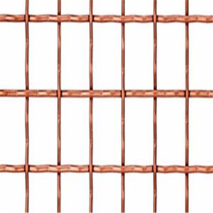 Plain Weave Crimped Copper Wire Mesh pictures & photos