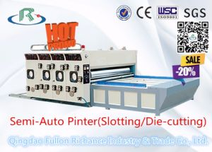 Cardboard Boxes Semi-Automatic Printer Slotting Die Cutter Manufacturers pictures & photos