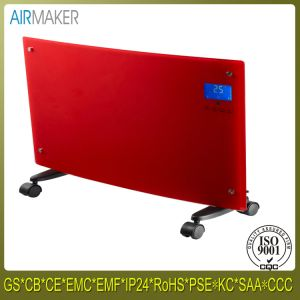 Touch Screen Electric Wall Mounted Glass Panel Convector Heater pictures & photos