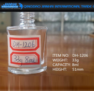 8ml Super Flint Cosmetic Container Glass Nail Polish Bottle pictures & photos