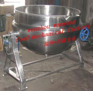 Steam Heating Jacketed Cooking Pot for Food pictures & photos