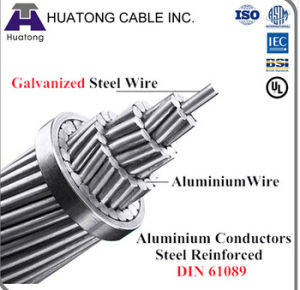 ACSR Aluminium Conductor Steel Reinforced ASTM B232 pictures & photos