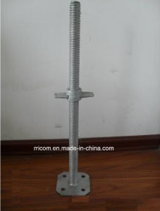 Scaffold Hollow Adjustable Jack Base for Construction pictures & photos