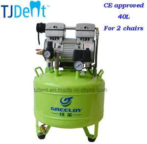 Ce Certicated Noiseless 40L Dental Air Compressors (TJ-81) pictures & photos