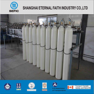Tped DOT 40L Steel Oxygen Gas Cylinder pictures & photos