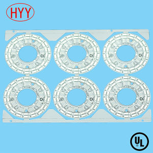 Aluminum Based PCB for LED Round PCB Board pictures & photos
