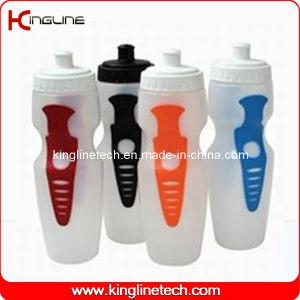 Plastic Sports Water Bottle, Plastic Sports Bottle, 650ml Plastic Drink Bottle (KL-6605) pictures & photos