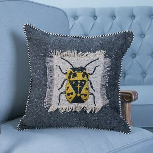 Hand-Made Decorative Cushion/Pillow with Insect Pattern (MX-47B/C/D/E/F/G) pictures & photos