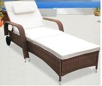 Indoor Lying Bed Outdoor Lying Bed Kd Lying Bed Rattan Lying Bed pictures & photos