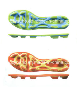 Fashion Cheap Factory Soccer Shoes Sole pictures & photos