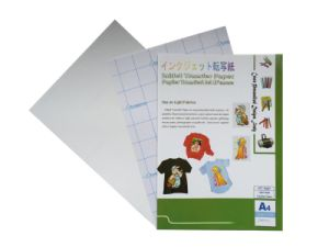 Inkjet Transfer Paper for Light Fabrics (Hot Peel) pictures & photos