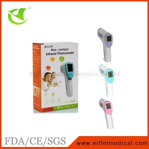 Ce Approved Gun Shape Baby Non-Contact Infrared Forehead Thermometer pictures & photos