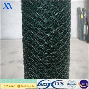 Heavy PVC Coated Hexagonal Wire Mesh pictures & photos