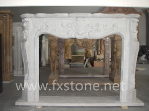 France Style Marble Fireplace pictures & photos