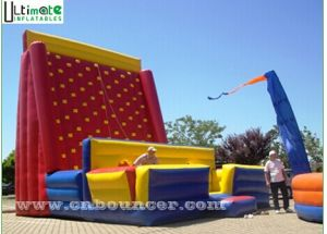Outdoor Great Fun Inflatable Sticky Wall