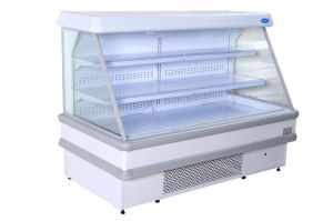 Semi-Multideck Display Showcase for Supermarket pictures & photos