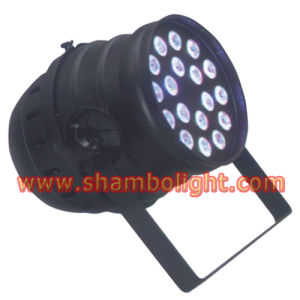 LED Stage PAR/10W*18PCS RGBW 4 in 1 LED PAR 64