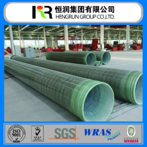 Underground GRP Pipe Dn100mm to Dn4000mm for Sewage/ Sea/Oil Water Supply pictures & photos