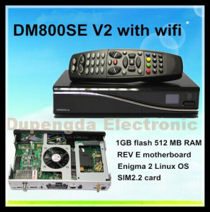 The World Cup Dreambox DVB-S2 Dm800se SIM 2.2 HD V2 Satellite Receiver Enigma 2 with WiFi