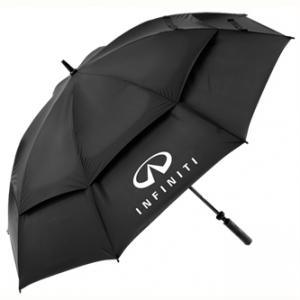 Double Panels, Windproof Golf Umbrella, Manual Open (BR-ST-147) pictures & photos